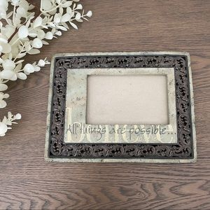 Faith All Things Possible Picture Frame